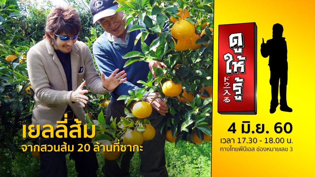 ดูให้รู้ Dohiru - เยลลี่ส้ม จากสวนส้ม 20 ล้านที่ซากะ