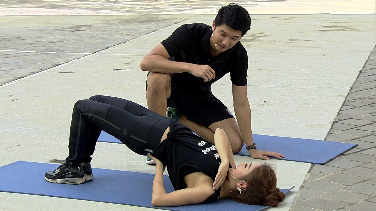 ข.ขยับ - ทดสอบความแข็งแรงของกล้ามเนื้อสะโพก เพื่อป้องกันและบรรเทาอาการปวดหลัง