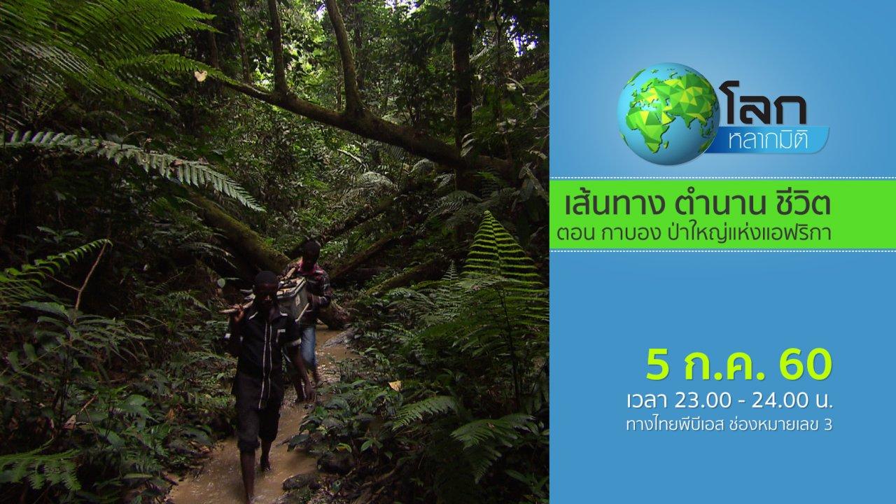 โลกหลากมิติ - เส้นทาง ตำนาน ชีวิต ตอน กาบอง ป่าใหญ่แห่งแอฟริกา