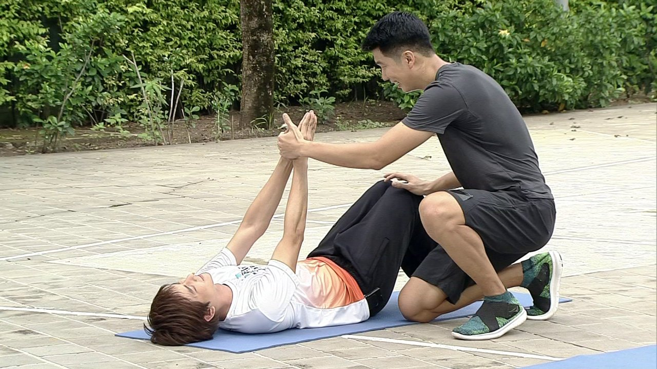 ข.ขยับ - ฝึกกล้ามท้องสำหรับนักกีฬา