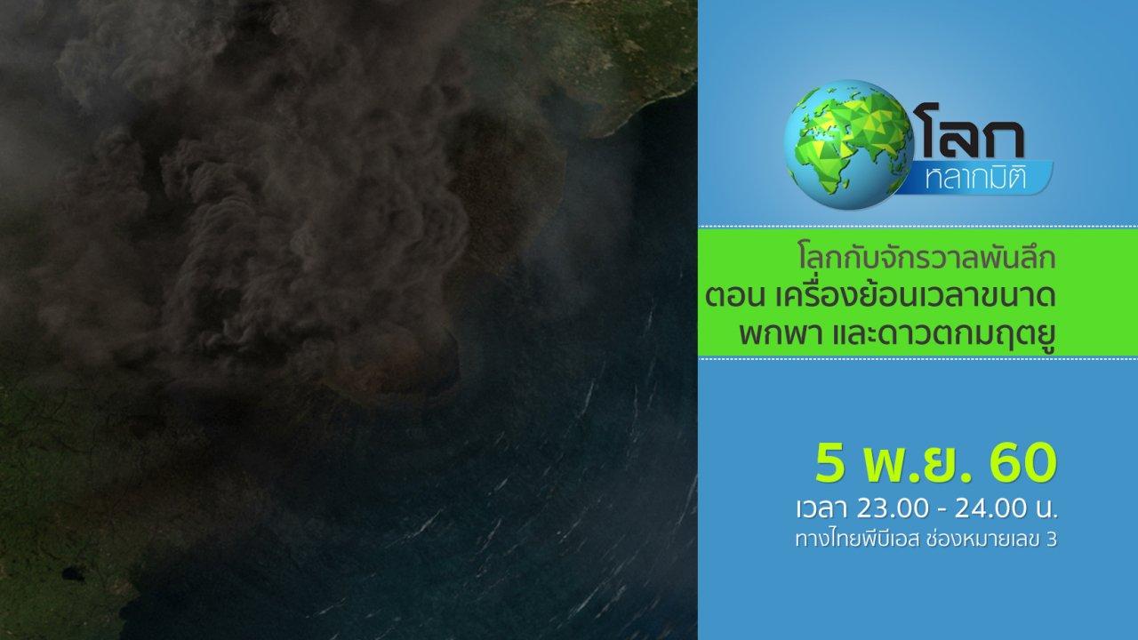 โลกหลากมิติ - โลกกับจักรวาลพันลึก ตอน เครื่องย้อนเวลาขนาดพกพา และดาวตกมฤตยู
