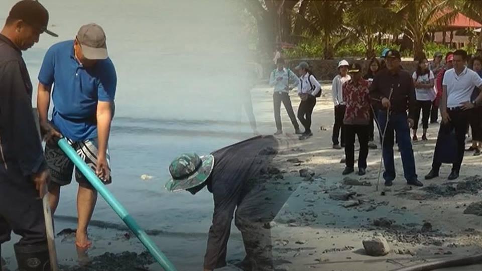 ร้องทุก(ข์) ลงป้ายนี้ - เร่งแก้ปัญหาน้ำเสียหาดไตรตรัง อ.กะทู้ จ.ภูเก็ต