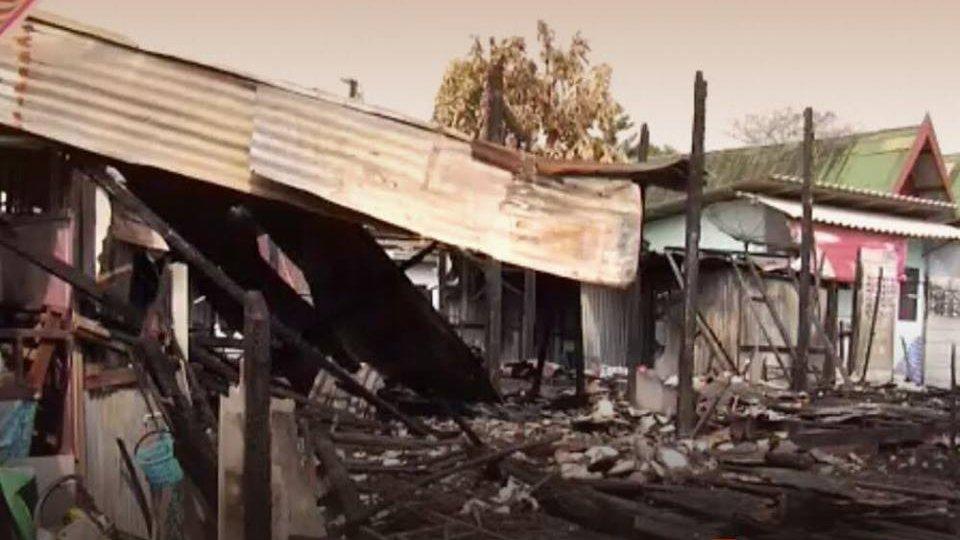 ร้องทุก(ข์) ลงป้ายนี้ - ช่วยเหลือชุมชนวัดโบสถ์ ถูกเพลิงไหม้ เขตภาษีเจริญ กทม.
