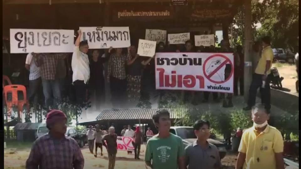 ร้องทุก(ข์) ลงป้ายนี้ - ผลกระทบจากฟาร์มโคนม อ.เมือง จ.กาญจนบุรี