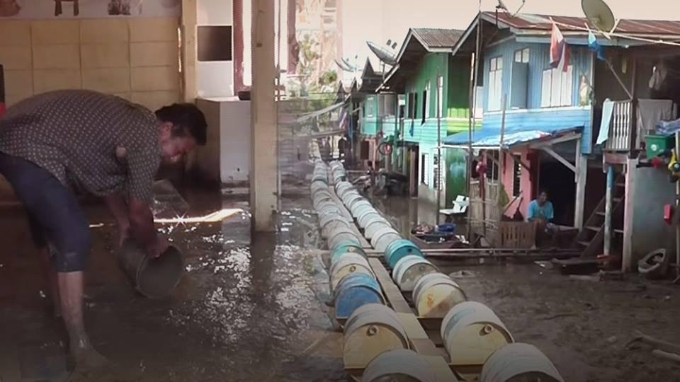 ร้องทุก(ข์) ลงป้ายนี้ - น้ำท่วมนาน 3 เดือน บ้านพัง อ.ป่าโมก จ.อ่างทอง