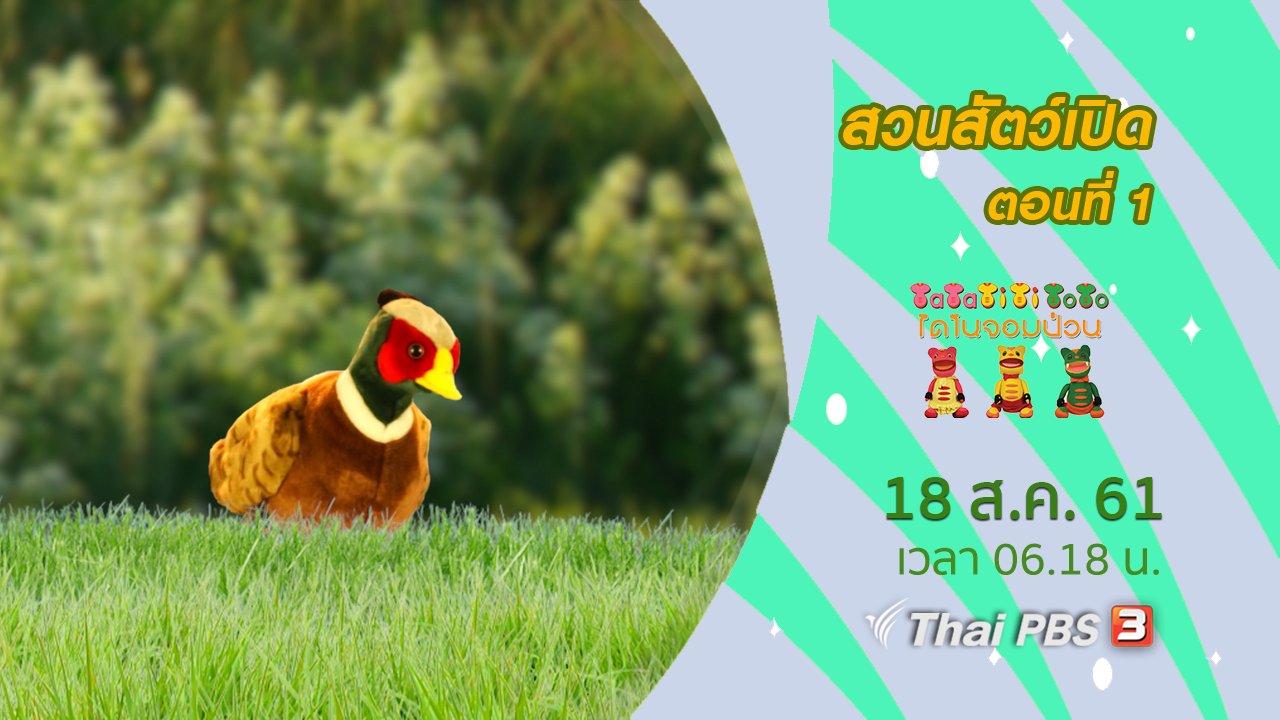 TataTitiToto ไดโนมหัศจรรย์ - สวนสัตว์เปิด ตอนที่ 1