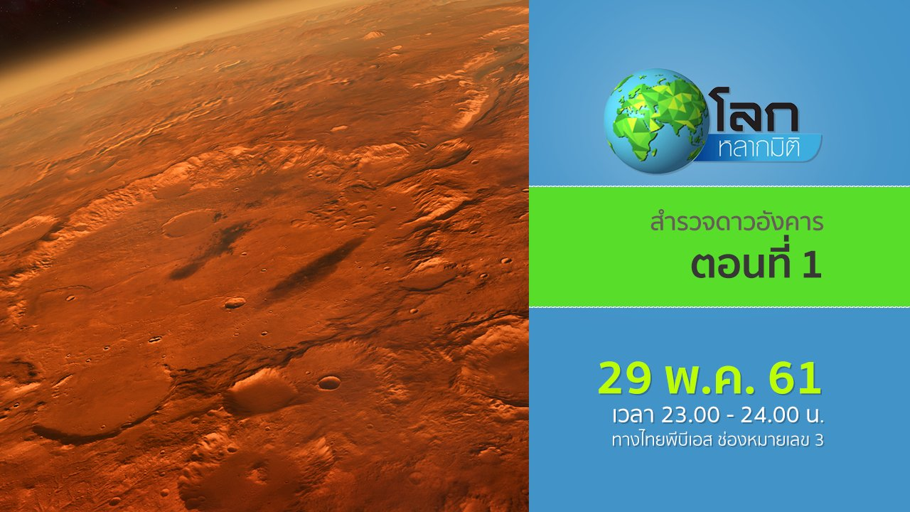โลกหลากมิติ - สำรวจดาวอังคาร ตอนที่ 1