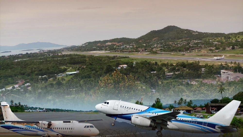 สถานีประชาชน - สนามบินเกาะสมุย รุกที่ดินสาธารณประโยชน์ จ.สุราษฎร์ธานี