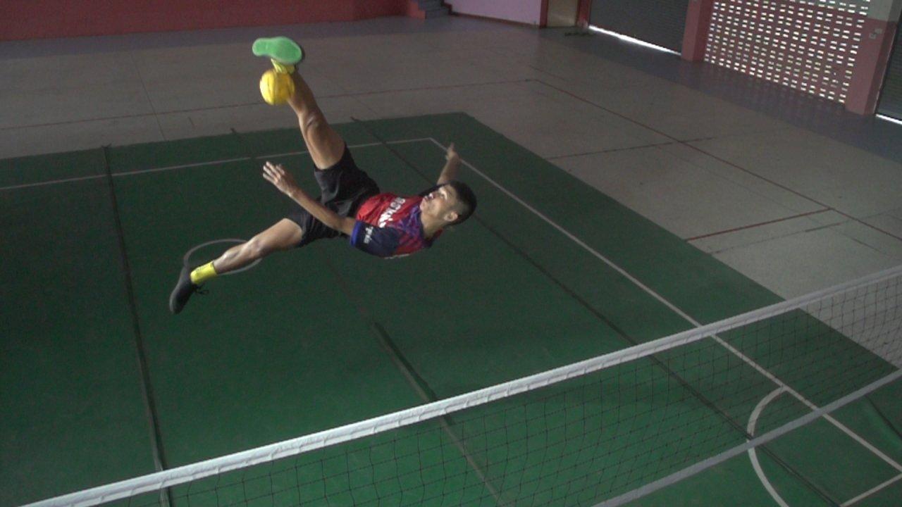 Thai PBS Youth Sepak Takraw Men Series 2018 - โรงเรียนสวนกุหลาบวิทยาลัยรังสิต จ.ปทุมธานี vs โรงเรียนกีฬาจังหวัดสุพรรณบุรี