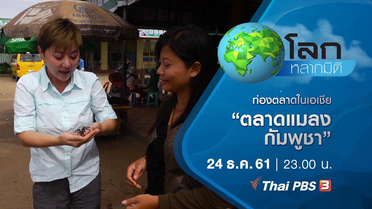 โลกหลากมิติ - ท่องตลาดในเอเชีย ตอน ตลาดแมลง กัมพูชา