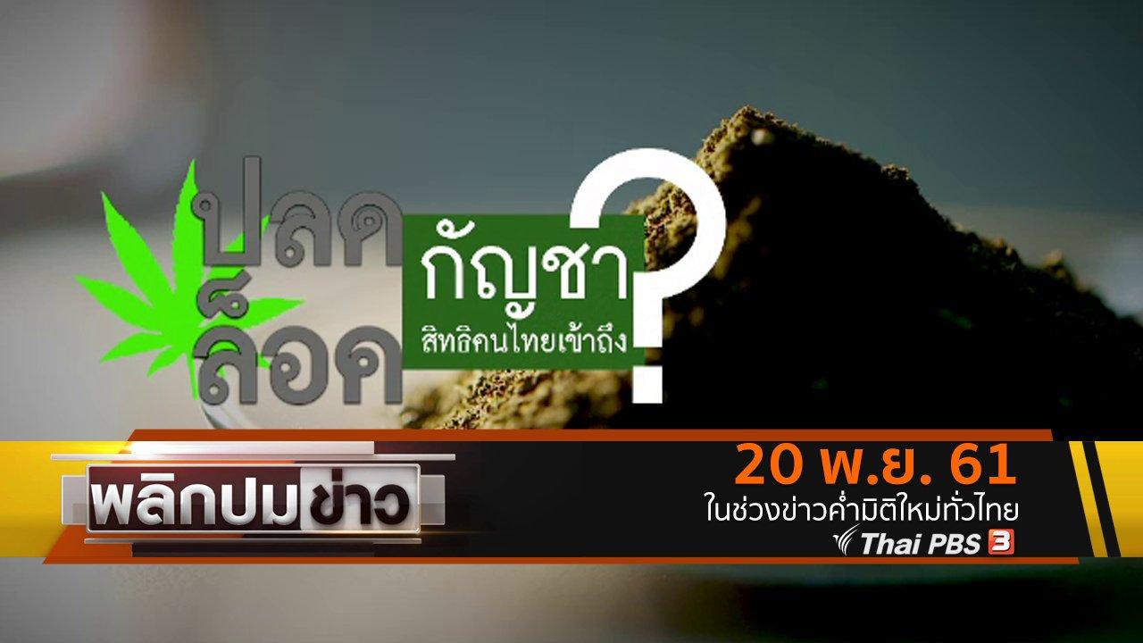 พลิกปมข่าว - ปลดล็อคกัญชา สิทธิคนไทยเข้าถึง