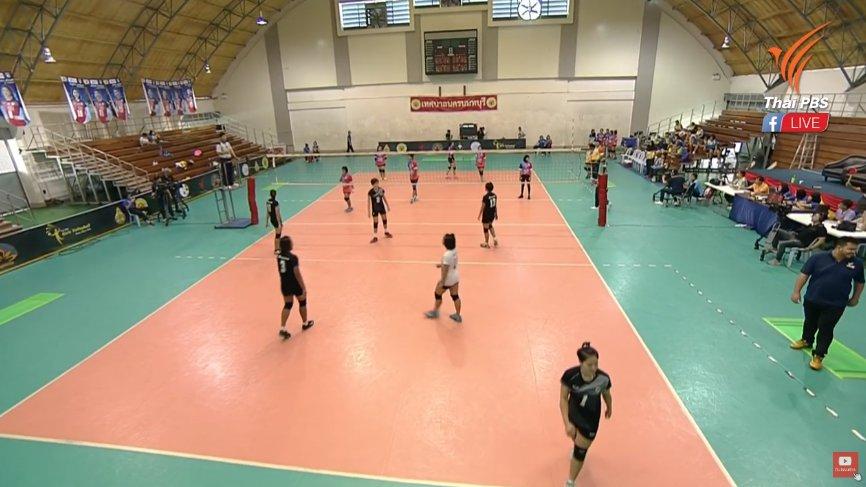 Thai PBS Girls Volleyball Super Series 2018 - โรงเรียนกีฬาจังหวัดอ่างทอง vs โครงการสานฝันการกีฬาสู่ระบบการศึกษาจังหวัดชายแดนภาคใต้