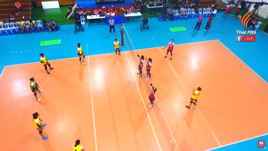 Thai PBS Girls Volleyball Super Series 2018 - โรงเรียนสวนกุหลาบวิทยาลัย vs วิทยาลัยเทคโนโลยีนครหาดใหญ่