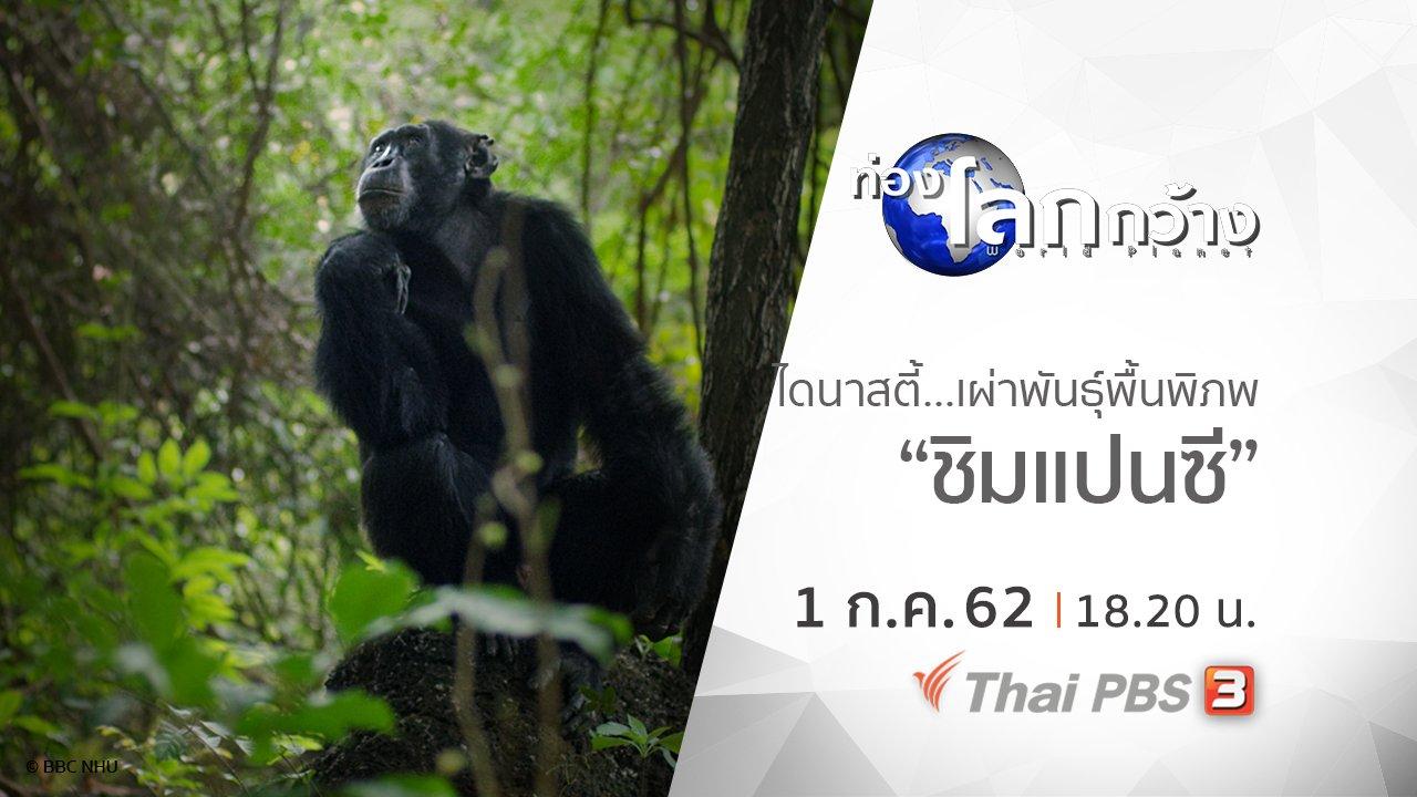 ท่องโลกกว้าง - ไดนาสตี้ เผ่าพันธุ์พื้นพิภพ ตอน ชิมแปนซี