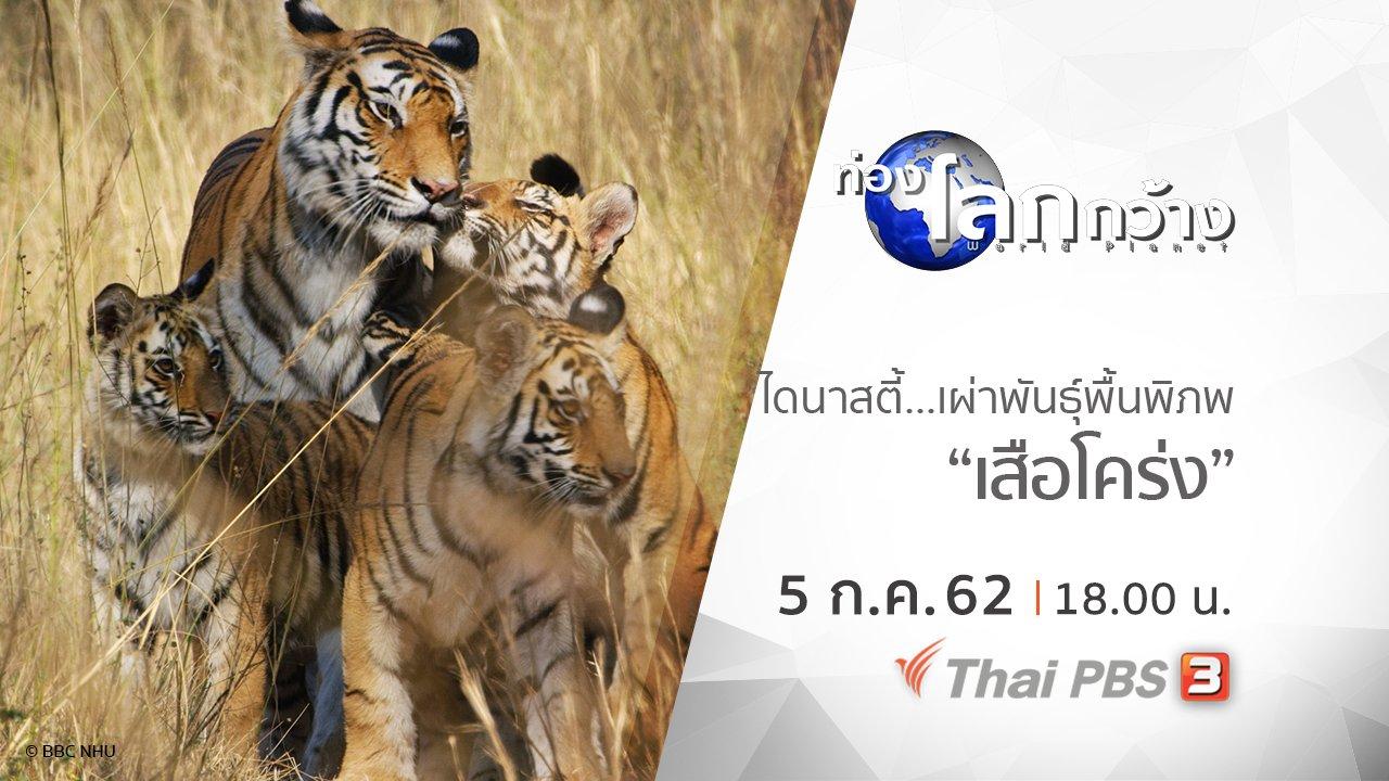 ท่องโลกกว้าง - ไดนาสตี้ เผ่าพันธุ์พื้นพิภพ ตอน เสือโคร่ง
