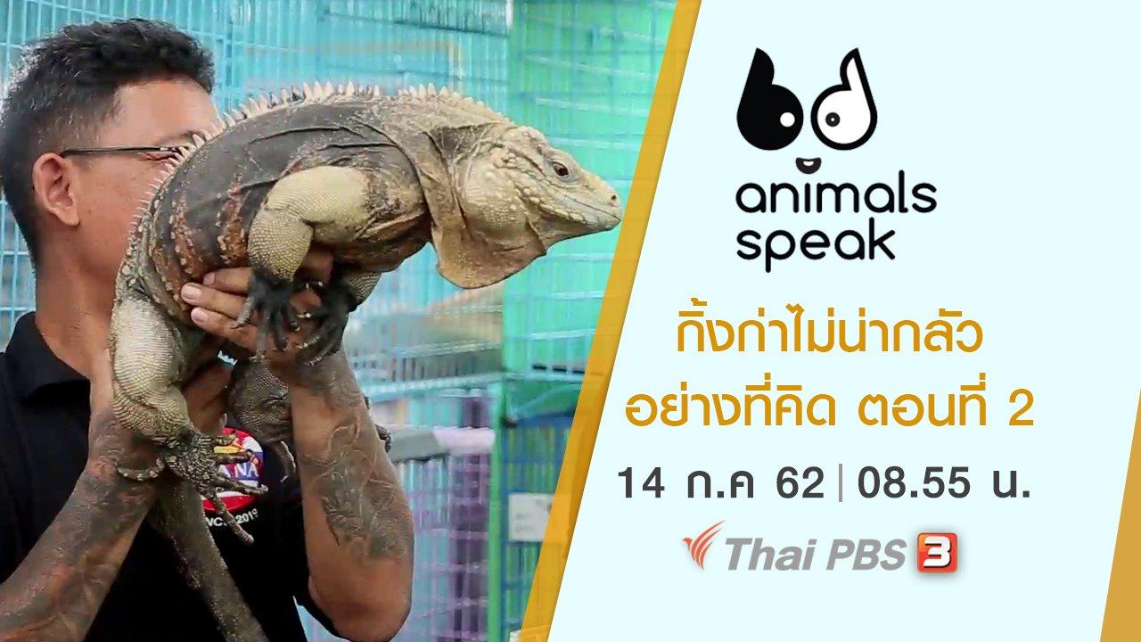 Animals Speak - กิ้งก่าไม่น่ากลัวอย่างที่คิด ตอนที่ 2