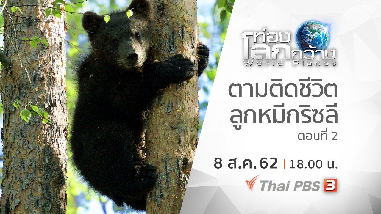 ท่องโลกกว้าง - ตามติดชีวิตลูกหมีกริซลี ตอนที่ 2