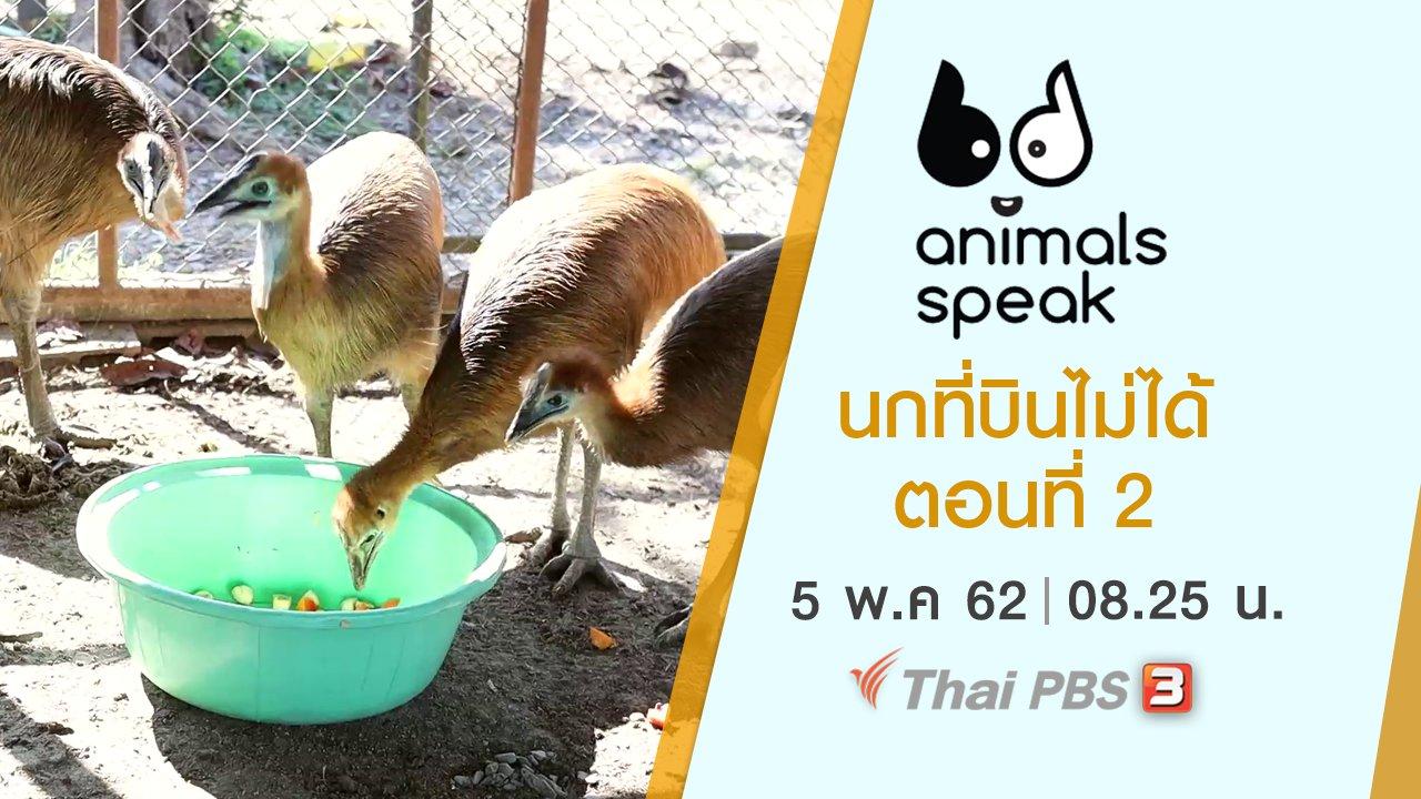 Animals Speak - นกที่บินไม่ได้ ตอนที่ 2