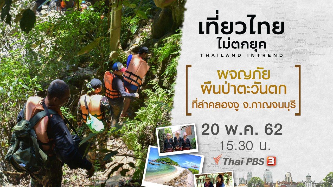 เที่ยวไทยไม่ตกยุค - ผจญภัยผืนป่าตะวันตก ที่ลำคลองงู จ.กาญจนบุรี