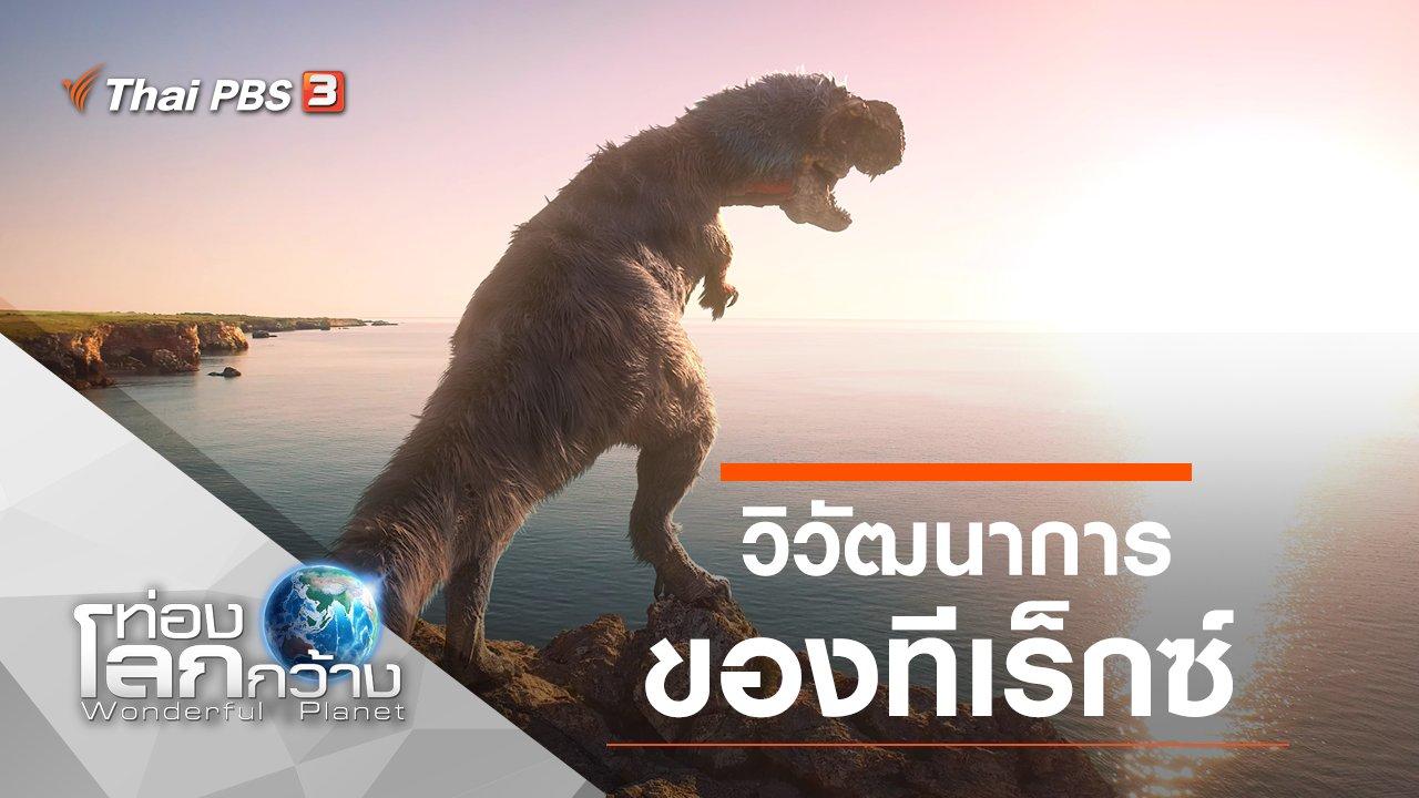 ท่องโลกกว้าง - วิวัฒนาการของทีเร็กซ์