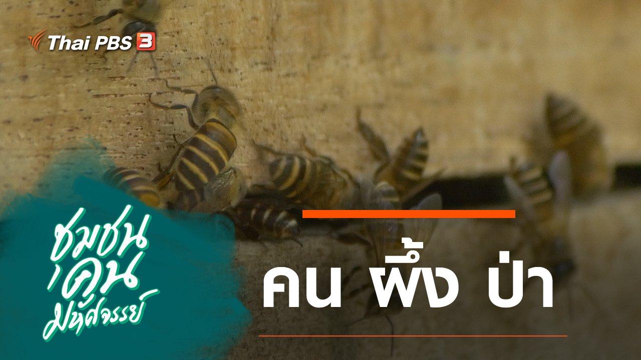 ชุมชนคนมหัศจรรย์ - คน ผึ้ง ป่า