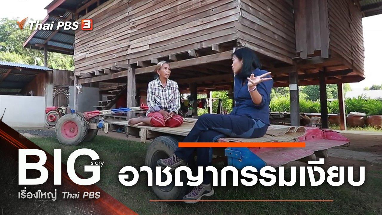 Big Story เรื่องใหญ่ Thai PBS - อาชญากรรมเงียบ
