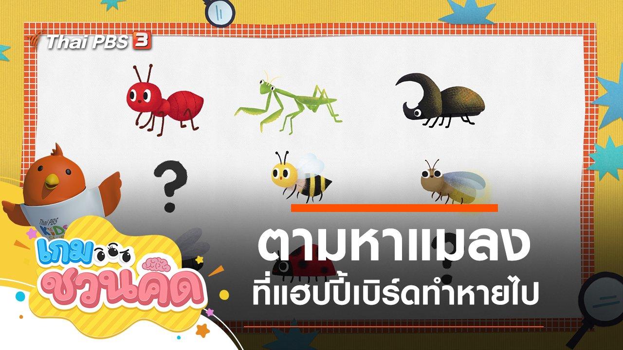 เกม...ชวนคิด - ตามหาแมลงที่หายไป