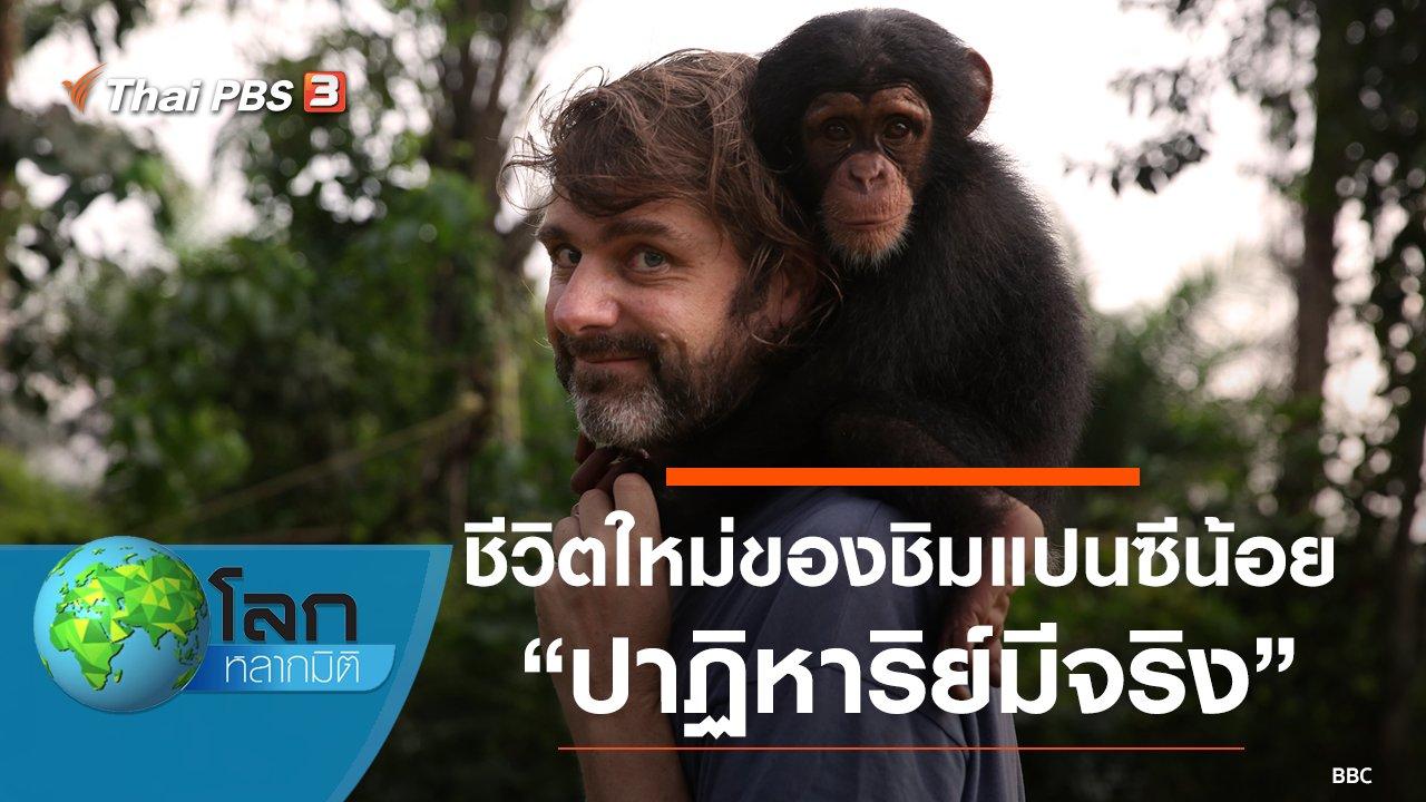 โลกหลากมิติ - ชีวิตใหม่ของชิมแปนซีน้อย ตอน ปาฏิหาริย์มีจริง
