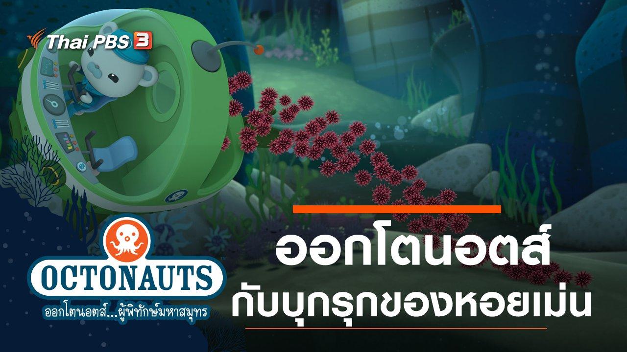การ์ตูน ออกโตนอตส์...ผู้พิทักษ์มหาสมุทร - ออกโตนอตส์กับบุกรุกของหอยเม่น