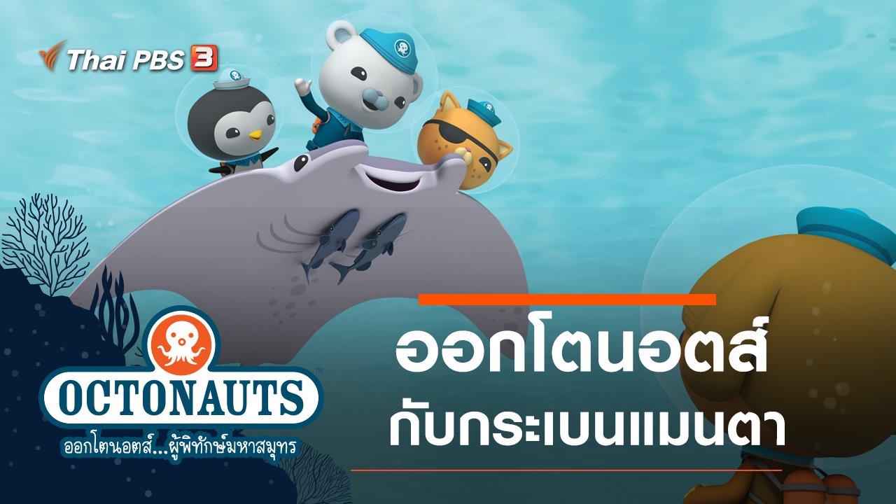 การ์ตูน ออกโตนอตส์...ผู้พิทักษ์มหาสมุทร - ออกโตนอตส์กับกระเบนแมนตา