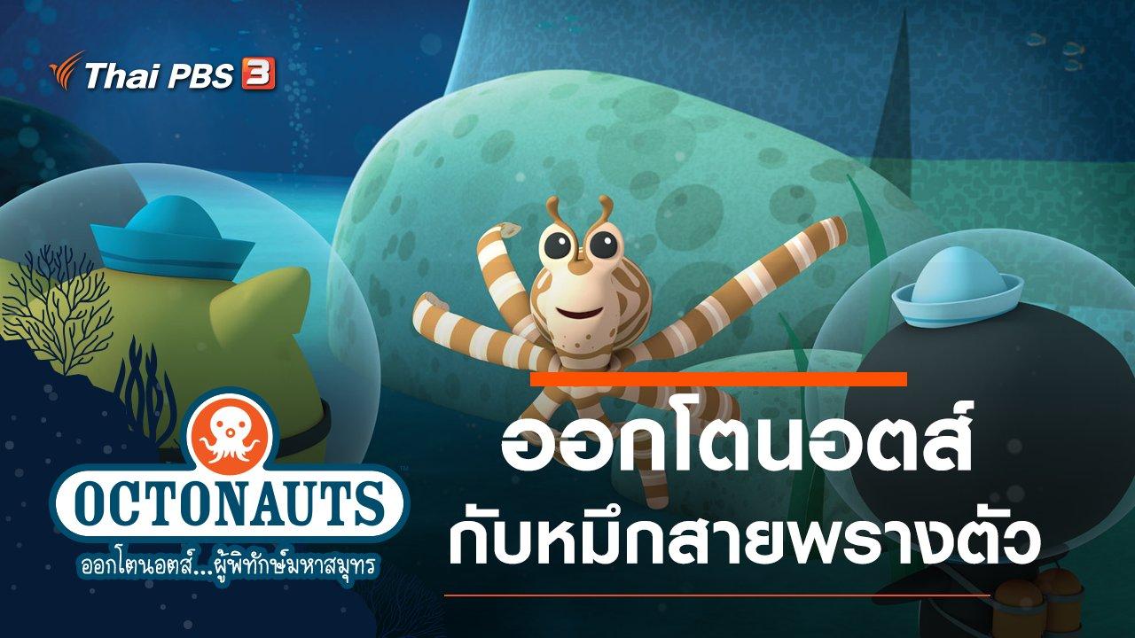การ์ตูน ออกโตนอตส์...ผู้พิทักษ์มหาสมุทร - ออกโตนอตส์กับหมึกสายพรางตัว