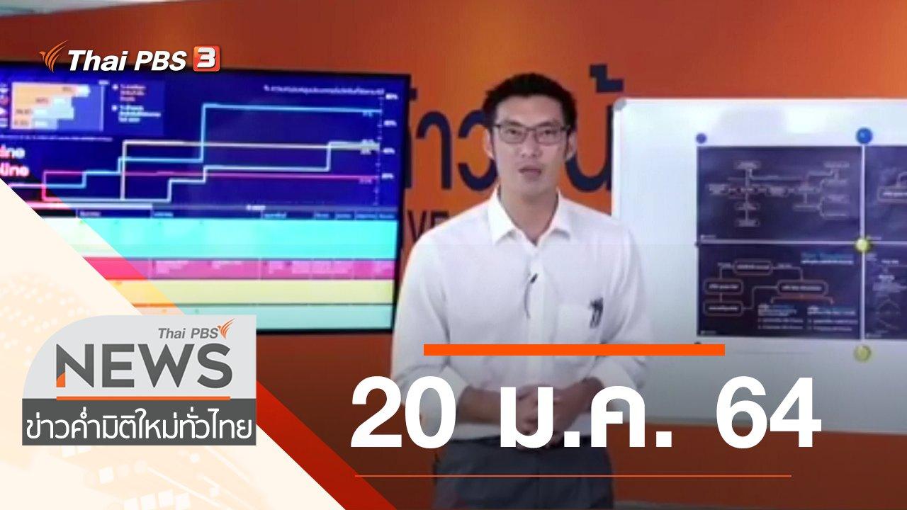 ข่าวค่ำ มิติใหม่ทั่วไทย - ประเด็นข่าว (20 ม.ค. 64)