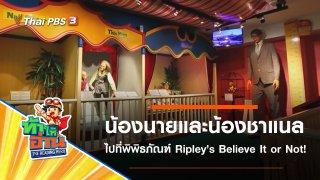 พิพิธภัณฑ์ Ripley's Believe It or Not! : น้องนายและน้องชาแนล