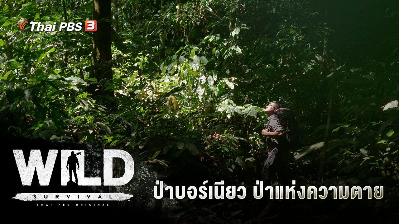 WILD SURVIVAL - ป่าบอร์เนียว ป่าแห่งความตาย