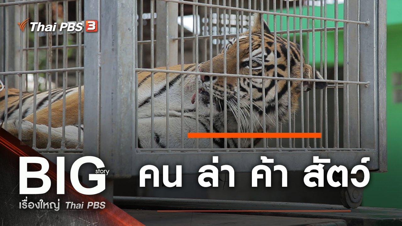 Big Story เรื่องใหญ่ Thai PBS - คน ล่า ค้า สัตว์