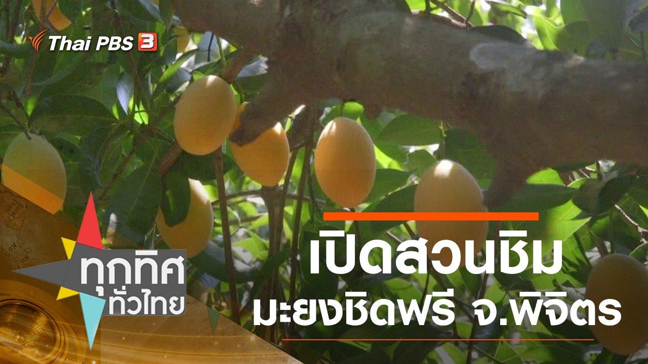 ทุกทิศทั่วไทย - เปิดสวนชิมมะยงชิดฟรี จ.พิจิตร