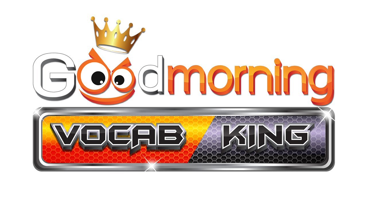 Good morning Vocab King - มอบมูลนิธิสืบนาคะเสถียร