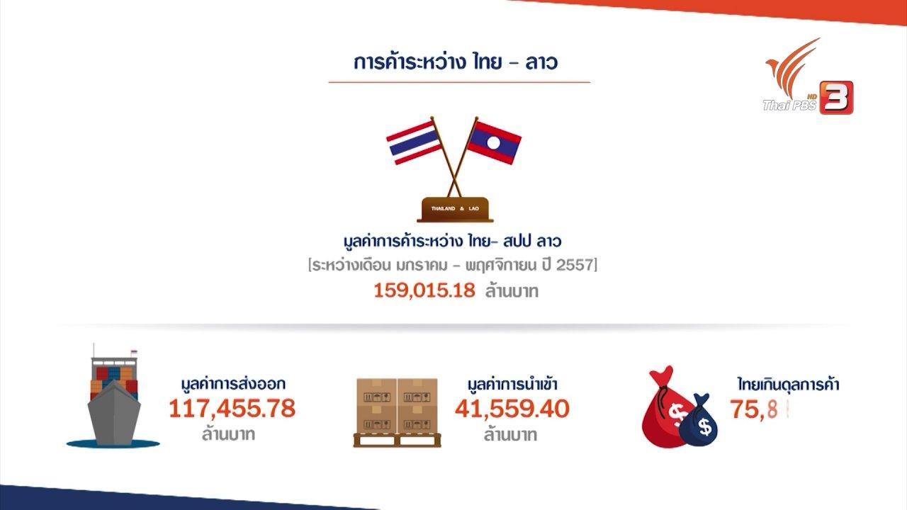 AEC Business Class  รู้ทันเออีซี - AEC Movement : การค้าไทย - ลาว