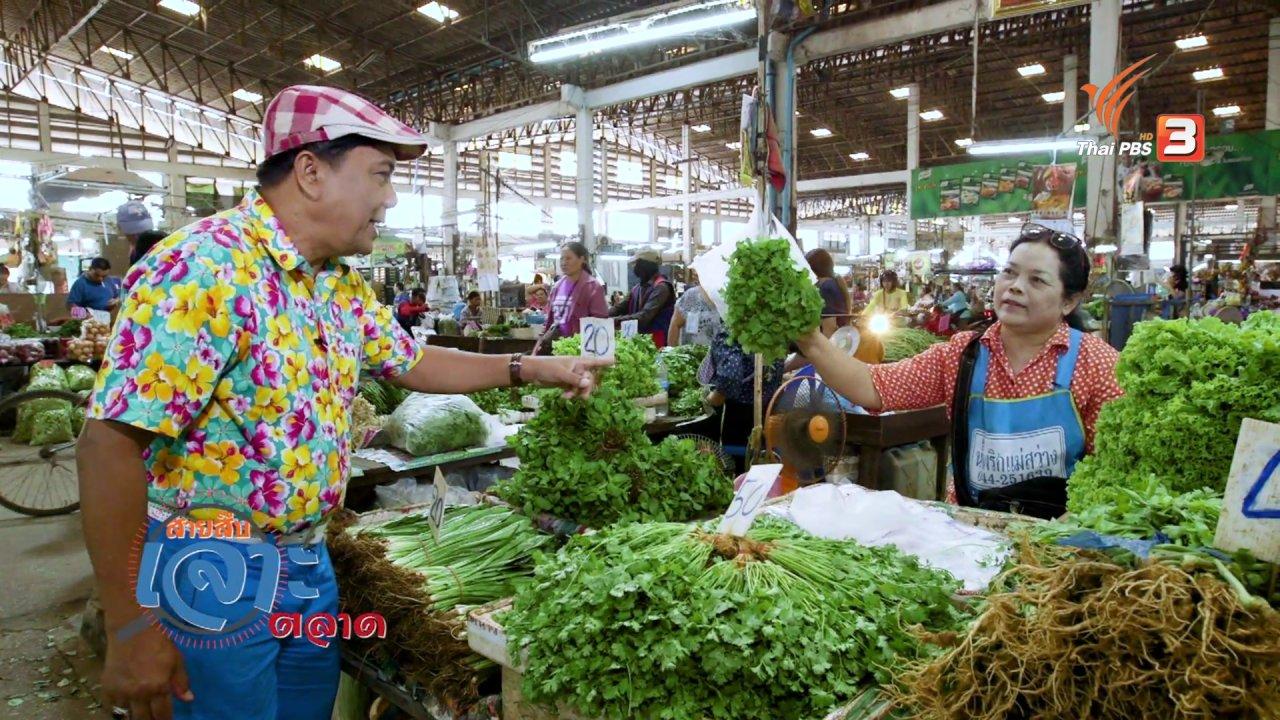 วันใหม่  ไทยพีบีเอส - สายสืบเจาะตลาด : สำรวจราคาผัก ตลาดสุรนครเมืองใหม่ จ.นครราชสีมา
