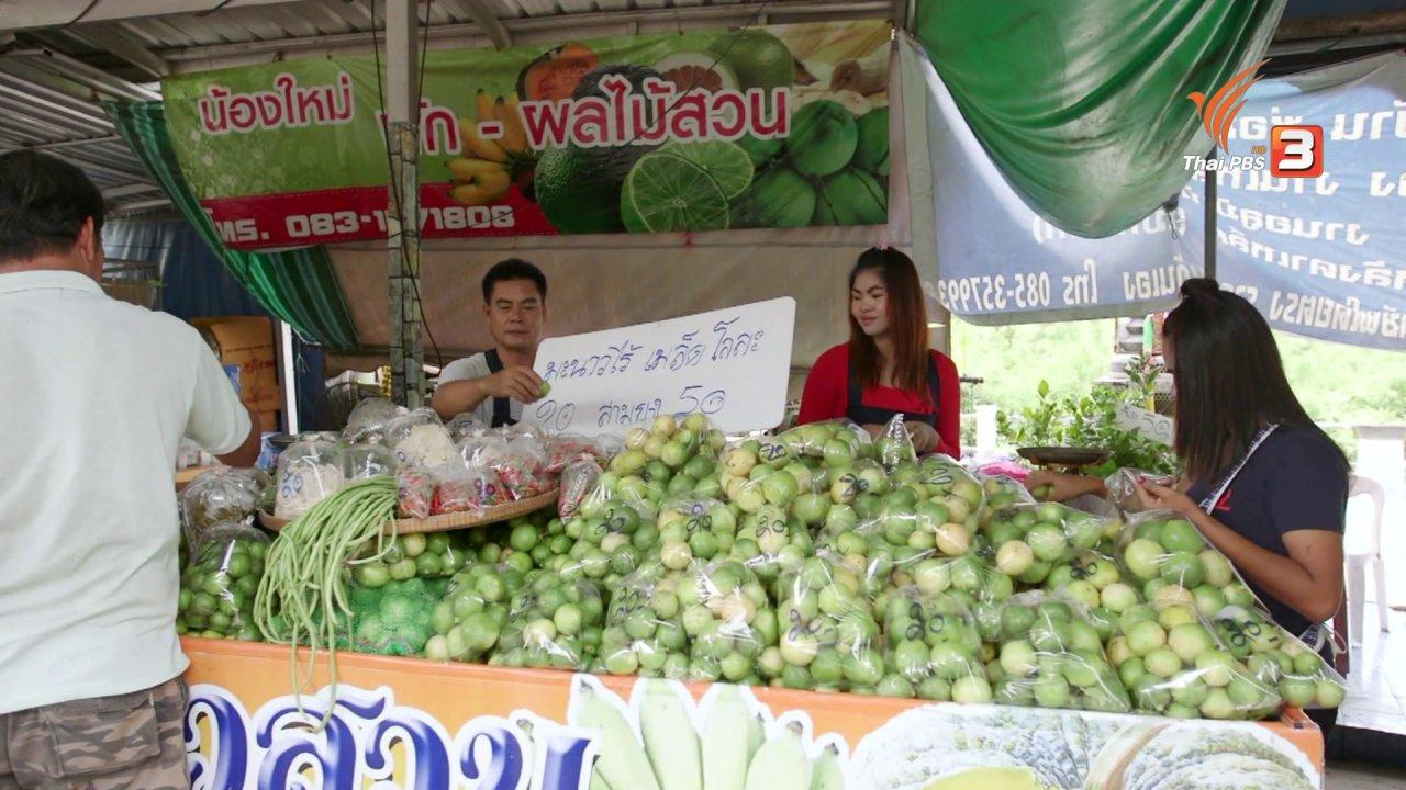 วันใหม่  ไทยพีบีเอส - สายสืบเจาะตลาด : สำรวจราคาสินค้าเกษตร วัดสมานรัตนาราม จ.ฉะเชิงเทรา