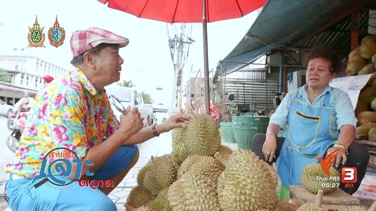วันใหม่  ไทยพีบีเอส - สายสืบเจาะตลาด : สำรวจราคาผลไม้ ตลาดวงษ์ทอง จ.สระบุรี