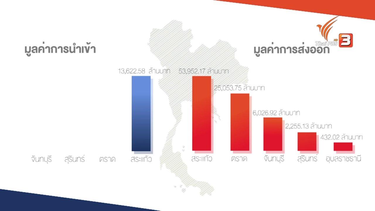 AEC Business Class  รู้ทันเออีซี - AEC Movement : การค้าโดยรวมระหว่างไทย - กัมพูชา