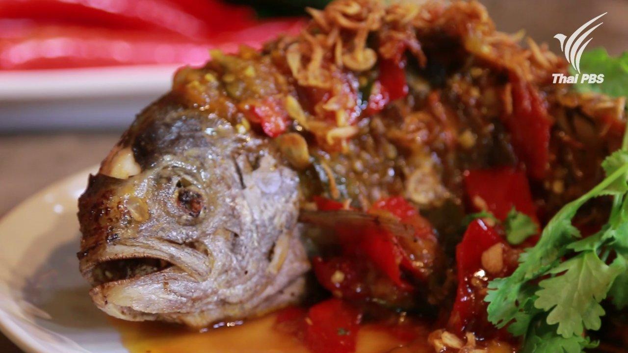 กินอยู่คือ - ปลาสำลีสามรส
