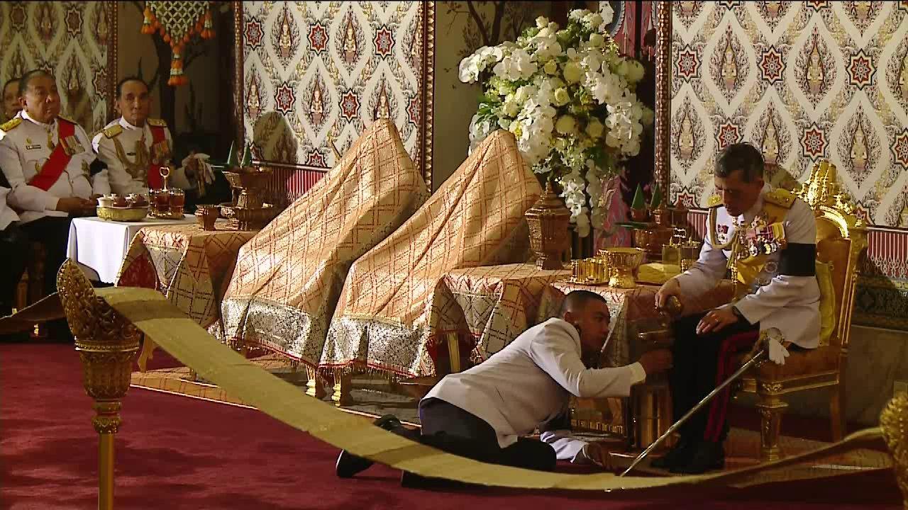 พระราชพิธีบำเพ็ญพระราชกุศล ณ พระที่นั่งดุสิตมหาปราสาท ในพระบรมมหาราชวัง [ช่วงที่1]