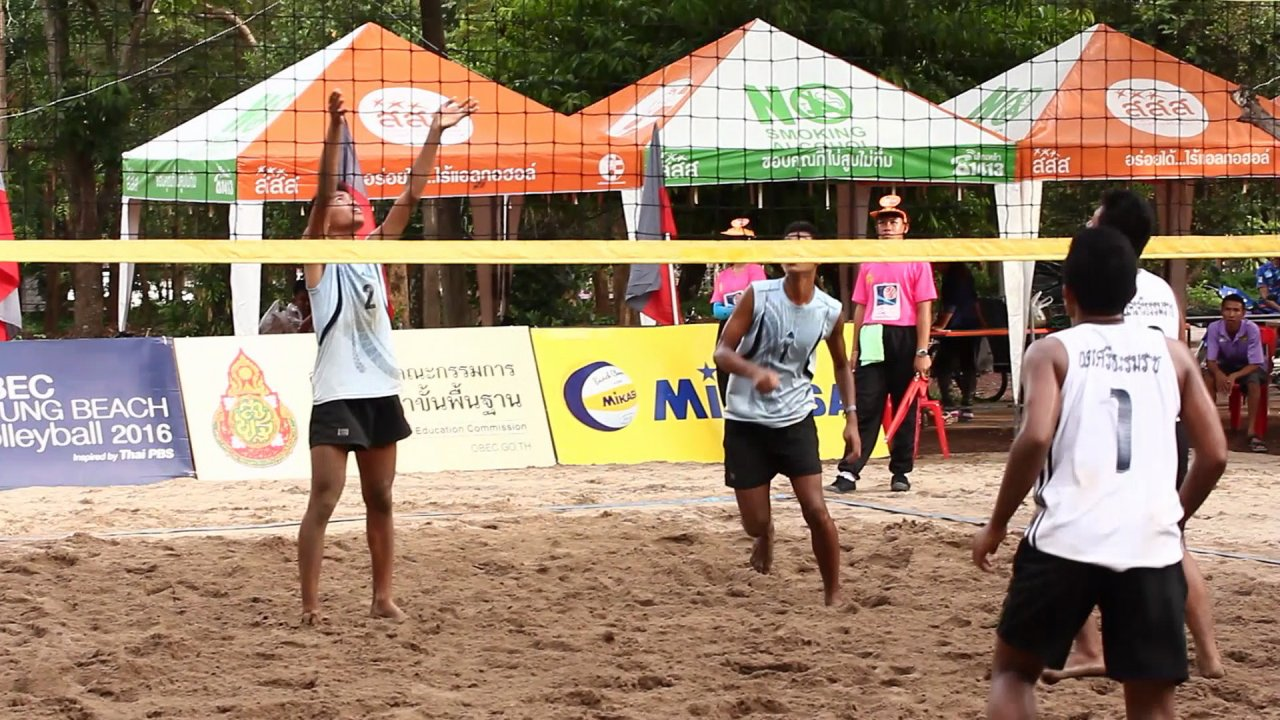 OBEC Young Beach Volleyball 2016 Inspired by Thai PBS - แนะนำผู้เข้าแข่งขัน OBEC Young Beach Volleyball 2016 คู่ชิงชนะเลิศรุ่น 18 ปีชาย