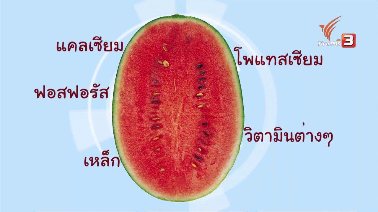 หม้อข้าวหม้อแกง - เกร็ดความรู้เรื่องแตงโม