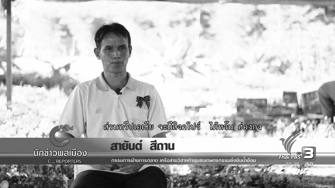 ที่นี่ Thai PBS - ผลิตข้าวอินทรีย์ทางรอดเกษตรกรกลุ่มน้ำอ้อม จ.ยโสธร