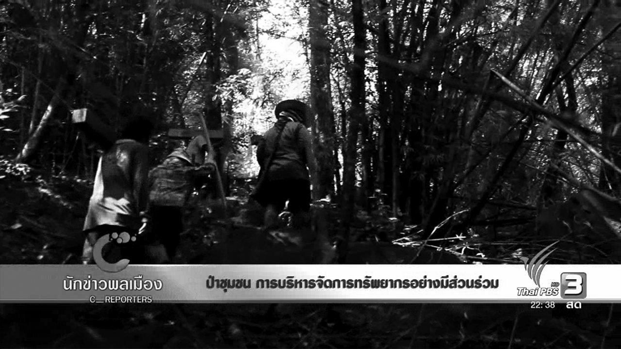 ที่นี่ Thai PBS - ป่าชุมชน การบริหารจัดการทรัพยากรอย่างมีส่วนร่วม