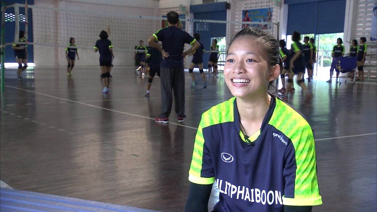 Thai PBS Girls Volleyball Super Series 2016 - Scoop idol ThaiPBS Girl Vollayball super series 2016