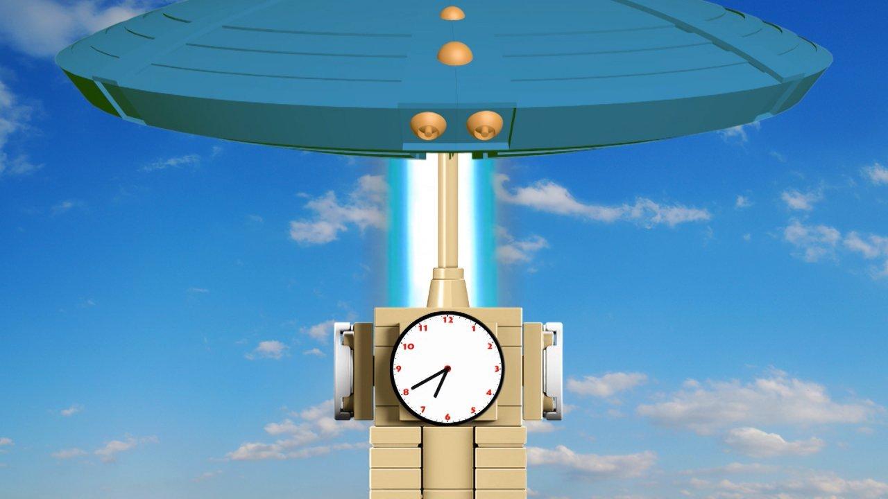 TataTitiToto ไดโนจอมป่วน - สร้างหอนาฬิกา